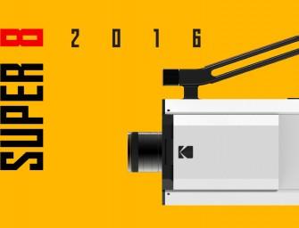 Kodak annonce le retour de sa cultissime caméra Super-8