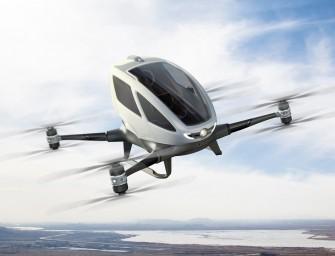 Mieux que la voiture volante, le drone Ehang184 comme futur moyen de transport