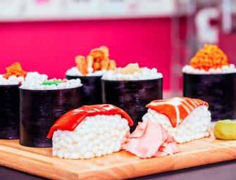 Sushi Cake par la chef américaine Yolanda Gampp,