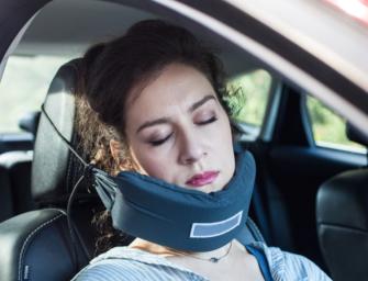 Nod Travel Pillow, le gadget ultime pour faire une sieste dans les transport